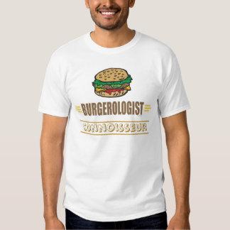 Hamburguesa divertida playeras