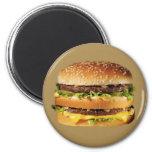 hamburguesa en moreno imán