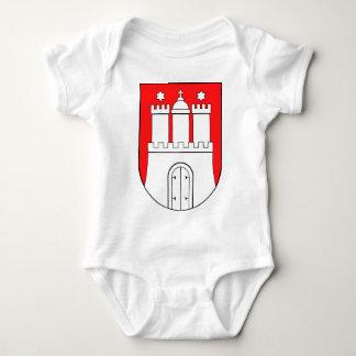Hamburguesa escudo de armas camisas