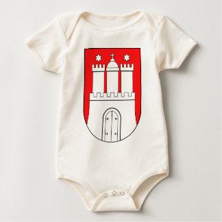Hamburguesa escudo de armas mamelucos de bebé