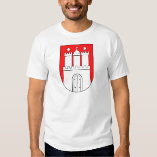 Hamburguesa escudo de armas poleras
