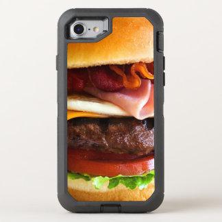 Hamburguesa grande divertida funda OtterBox defender para iPhone 7