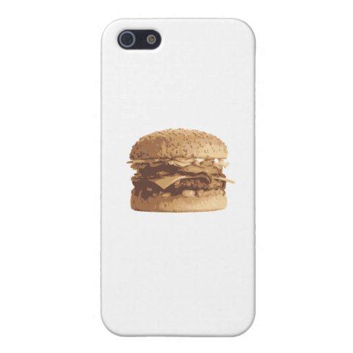 Hamburguesa iPhone 5 Carcasas