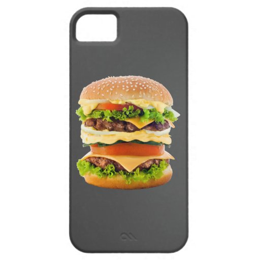 Hamburguesa iPhone 5 Case-Mate Cárcasas