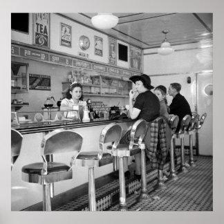 Hamburguesa Joint, 1941 Póster