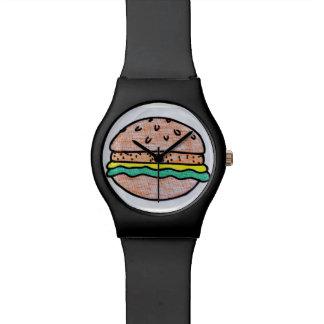 Hamburguesa Relojes De Pulsera