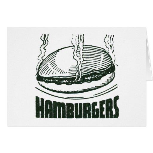 Hamburguesa Tarjeta