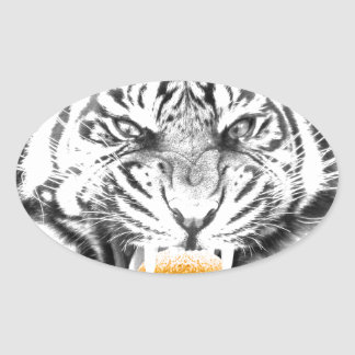 hamburguesa tiger.jpg pegatina ovalada