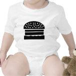 hamburguesa traje de bebé