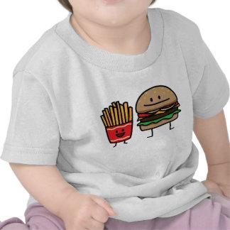 Hamburguesa y fritadas camiseta