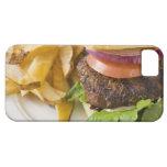 Hamburguesa y patatas fritas iPhone 5 cobertura