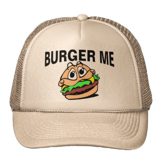 Hamburguesa yo gorras de camionero