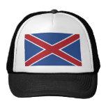 Hamburguesas, bandera de Suráfrica Gorros Bordados