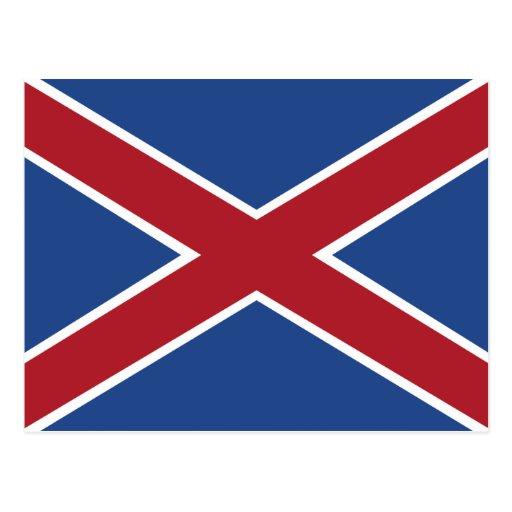 Hamburguesas, bandera de Suráfrica Tarjetas Postales