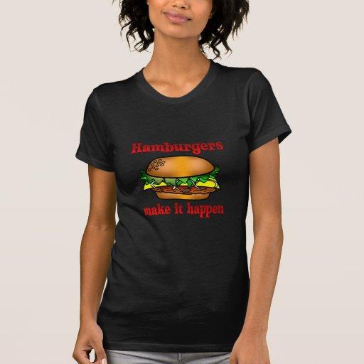 Hamburguesas Camiseta