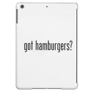 hamburguesas conseguidas funda para iPad air