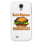 Hamburguesas de la felicidad de la salud