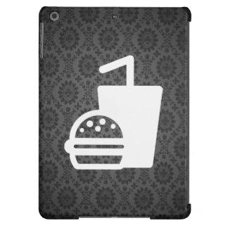 Hamburguesas de los alimentos de preparación funda para iPad air