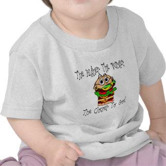 Hamburguesas divinas camisetas