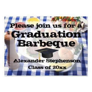 Hamburguesas en barbacoa de la fiesta de graduació
