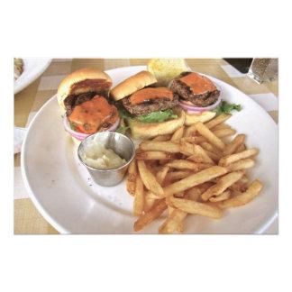 hamburguesas impresiones fotográficas