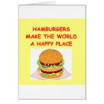 hamburguesas tarjeton