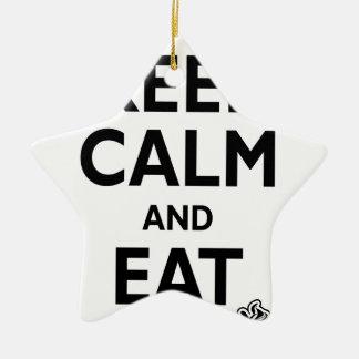Hamburguesas y FroYos Adorno De Navidad