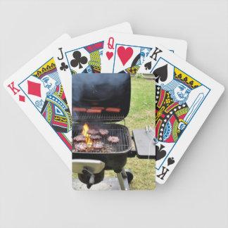 Hamburguesas y perritos calientes baraja de cartas