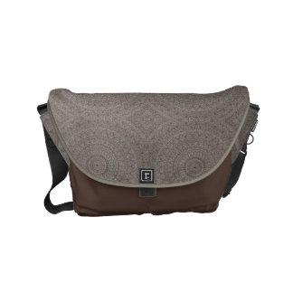 HAMbWG Clay & Brown Boho Design  Messenger Bag