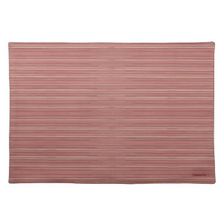 HAMbWG - Cloth Placemat - Little Rose Red Gradient
