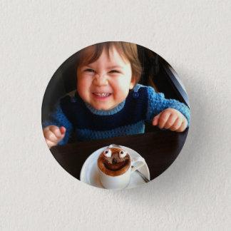 HAMbWG - Square Button - Hot Chocolate
