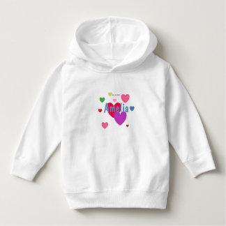 HAMbWG - Toddler Dress - Personalizable w hearts