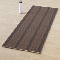 HAMbWG - Yoga Mat - Brown/White