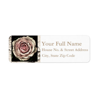 HAMbyWG - Address Labels - Vintage Rose