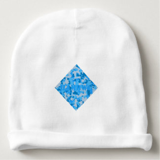 HAMbyWG - Baby Beanie - Blue Camouflage