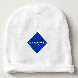HAMbyWG - Baby Beanie - Blue Plaid