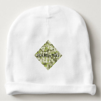 HAMbyWG - Baby Beanie - Green Camouflage