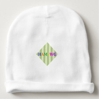 HAMbyWG - Baby Beanie - Lime Stripe