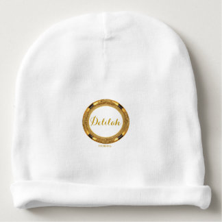 HAMbyWG Baby  Beanie - Personalizable Gold Frame