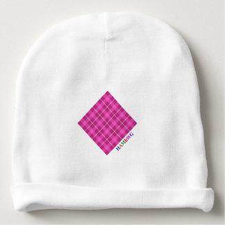 HAMbyWG - Baby Beanie - Pink Plaid