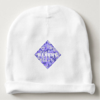 HAMbyWG - Baby Beanie - Purple Camouflage