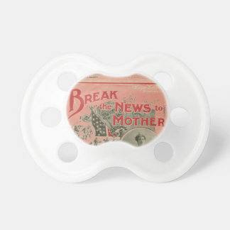 HAMbyWG - BooginHead® Pacifier - Break the News