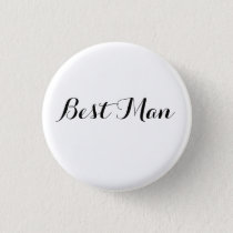 HAMbyWG -Button - Best Man Pinback Button