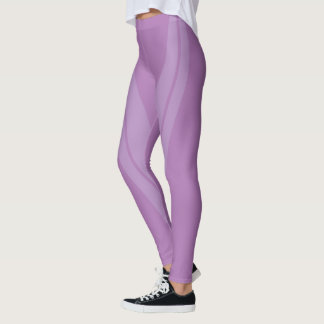 HAMbyWG - Compression Leggings - 2 Tone/Gardenia