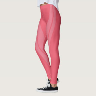 HAMbyWG - Compression Leggings - 2 Tone/Melon