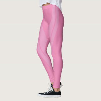 HAMbyWG - Compression Leggings - 2 Tone/Pink