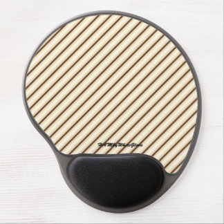 HAMbyWG - Gel Mouse Pad - Beige Brown Gradient