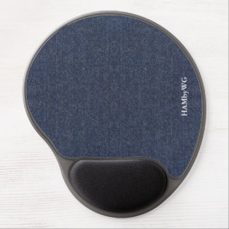 HAMbyWG - Gel Mouse Pad - Denim Image