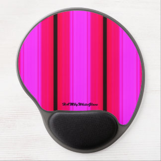 HAMbyWG - Gel Mouse Pad - Hot Pinks & Black