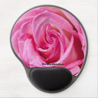 HAMbyWG - Gel Mouse Pad - Pink Rose